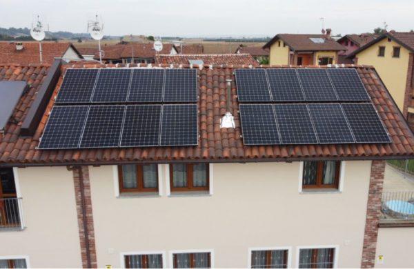FTV Residenziale + Sistema di Accumulo - Referenza Biotech Energia
