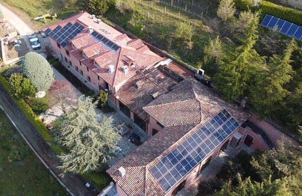 FTV su Guest House immersa nel verde - Referenza Biotech Energia
