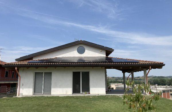 FTV Residenziale + Sistema di Accumulo + Colonnina Ricarica Auto - Referenza Biotech Energia